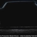 2021 GMC Hummer EV Supertruck Exterior Driver Side Profile Silhouette