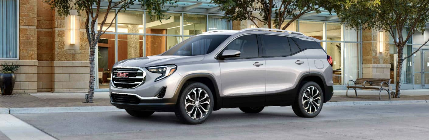 2021 GMC Terrain Exterior Driver Side Front Profile