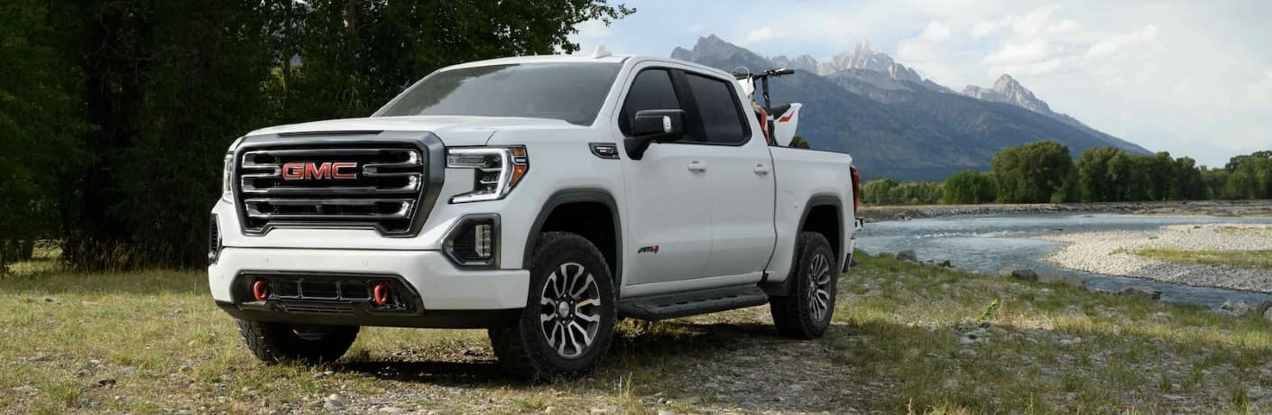 2021 GMC Sierra 1500 AT4 Exterior Driver Side Front Profile