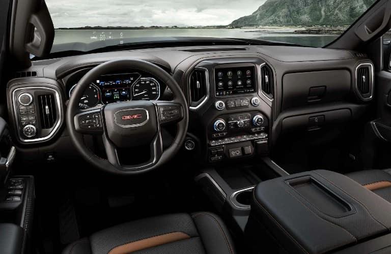 2021 GMC Sierra 1500 AT4 Interior Cabin Dashboard