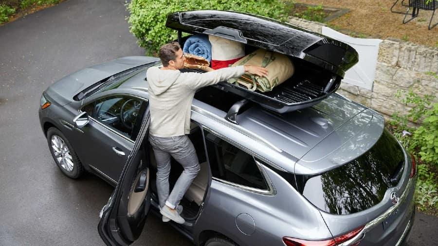 2021 Buick Enclave Exterior Rooftop Cargo Storage