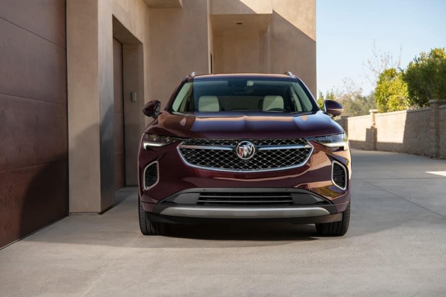 2021 Buick Envision Avenir Exterior Front Fascia