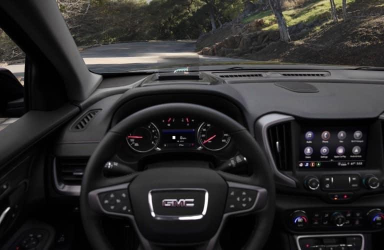 2022 GMC Terrain Interior Cabin Dashboard Head-up Display