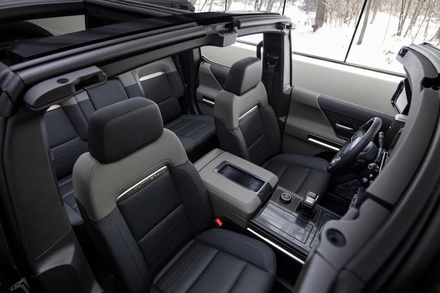 2024 GMC HUMMER EV SUV Interior Cabin Seating