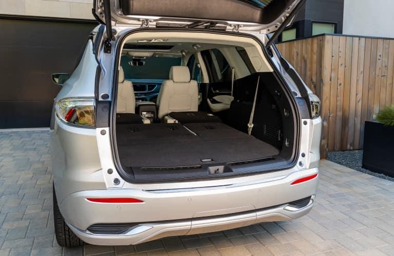 2022 Buick Enclave Interior Cabin Rear Cargo Area Seats Folded