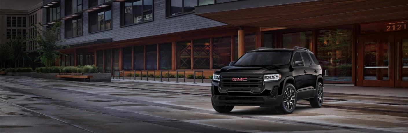 2022 GMC Acadia Exterior Driver Side Front Angle