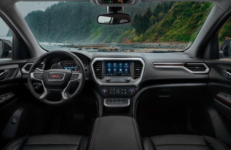 2022 GMC Acadia Interior Cabin Dashboard