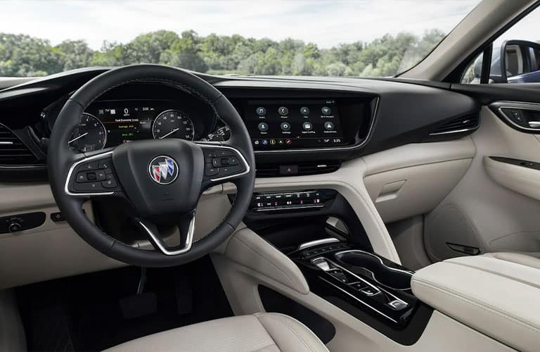 front seats of a 2021 Buick Envision