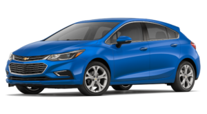 2018 Chevy Cruze in blue