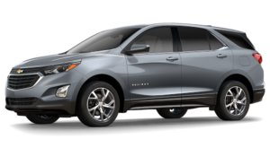 2018 Chevy Equinox in silver
