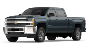 2018 Chevy Silverado 2500HD Grey