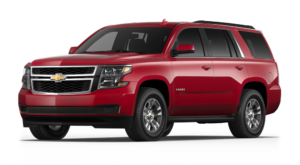Red 2018 Chevy Tahoe