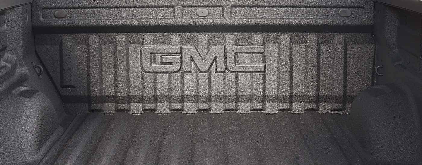New GMC Canyon Storage
