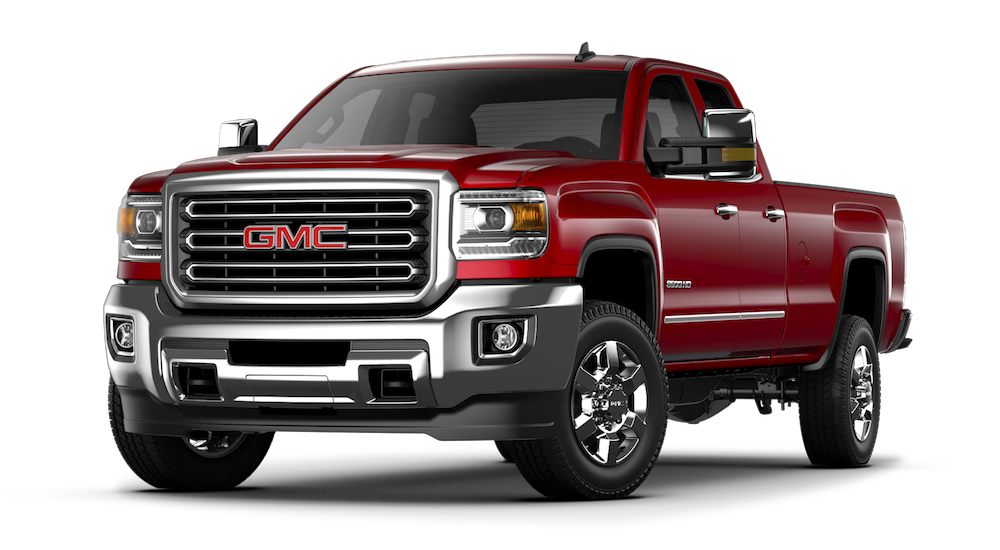 2018 GMC Sierra 3500HD Red