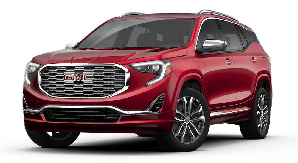 Red 2019 GMC Terrain