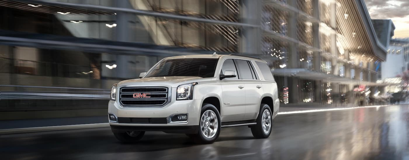 New GMC Yukon Body