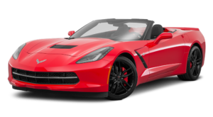 Red 2018 Chevy Corvette