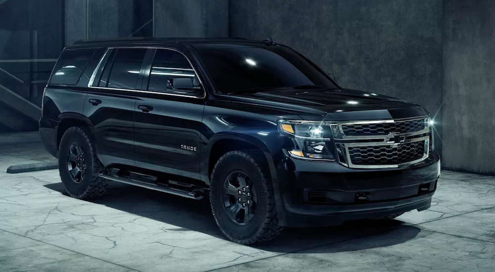 Chevy Impresses with Tahoe Custom Midnight Edition | Carl ...