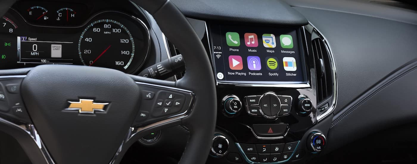 2019 Chevy Cruze Interior Entertainment systems