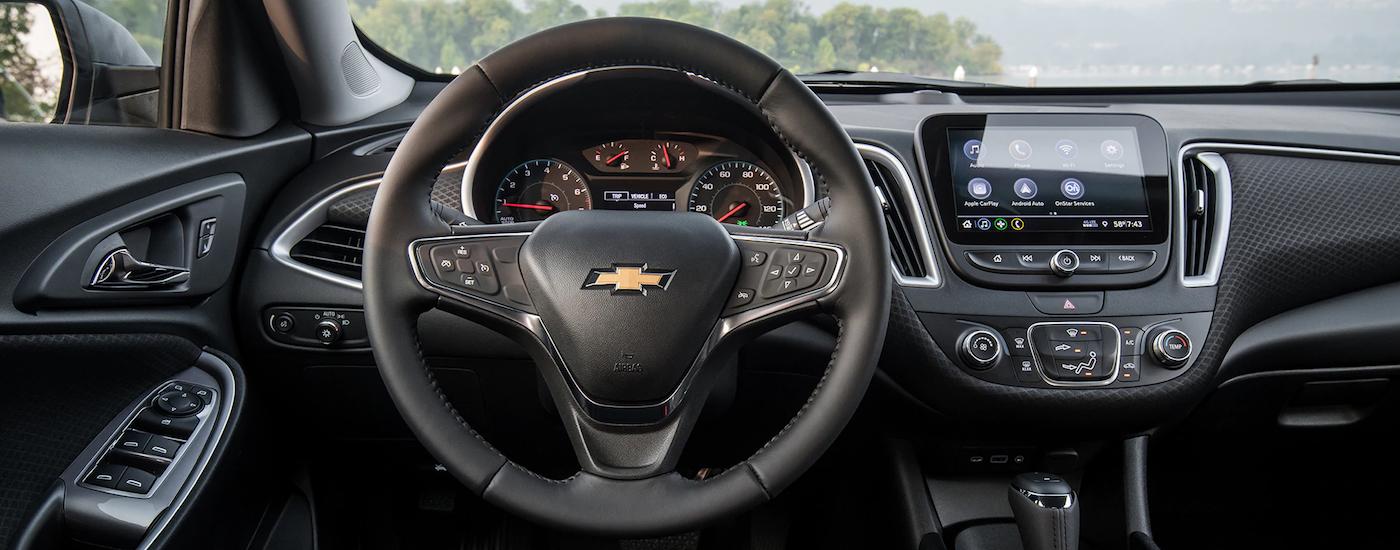2019 Chevrolet Malibu Entertainment Dashboard