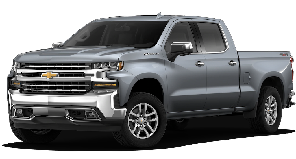 Grey 2019 Chevy Silverado