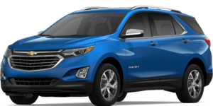 Blue 2019 Chevrolet Equinox