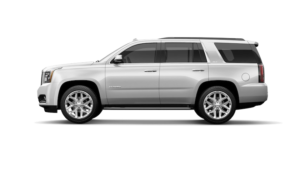 White 2019 GMC Yukon profile