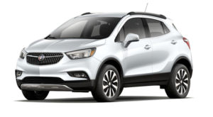 A white 2019 Buick Encore from Carl Black Kennesaw