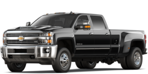 Black 2019 Chevy Silverado 3500