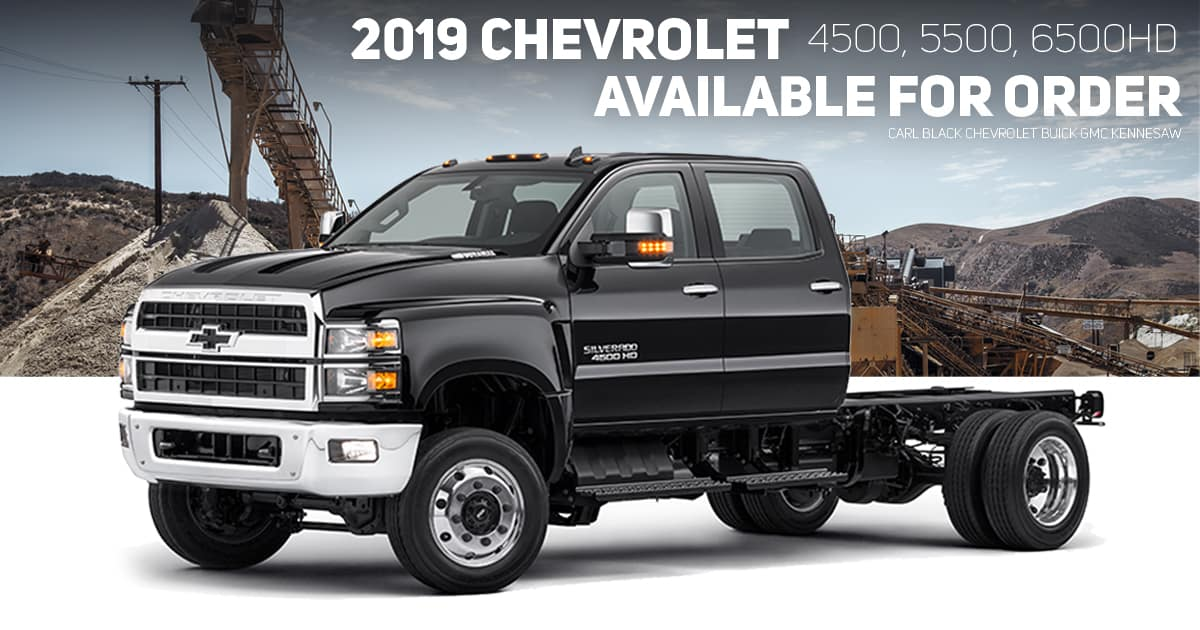 Available for Order 2019 Chevrolet Silverado 4500HD ...