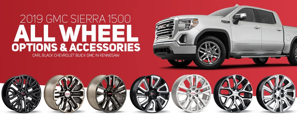 2019 GMC Sierra 1500 Wheels
