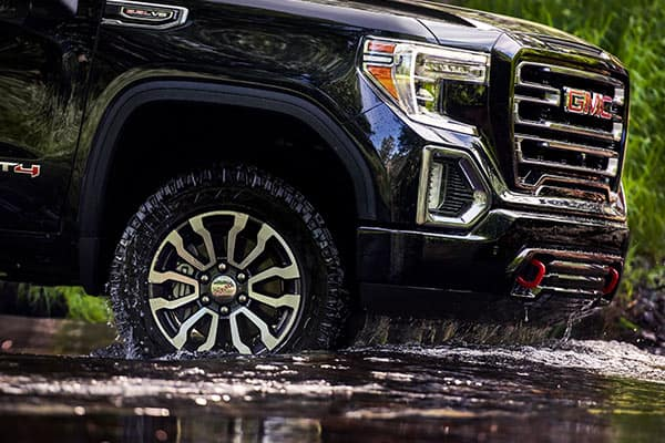 2019 GMC Sierra Wheels AT4