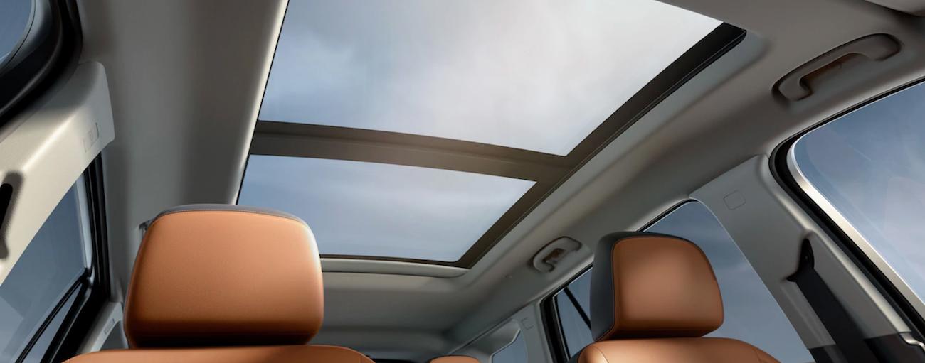 The interior design of the 2019 GMC Terrain