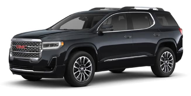2020 GMC Acadia Color Options - Carl Black Kenensaw