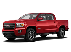 2019 GMC Canyon All-Terrain Red