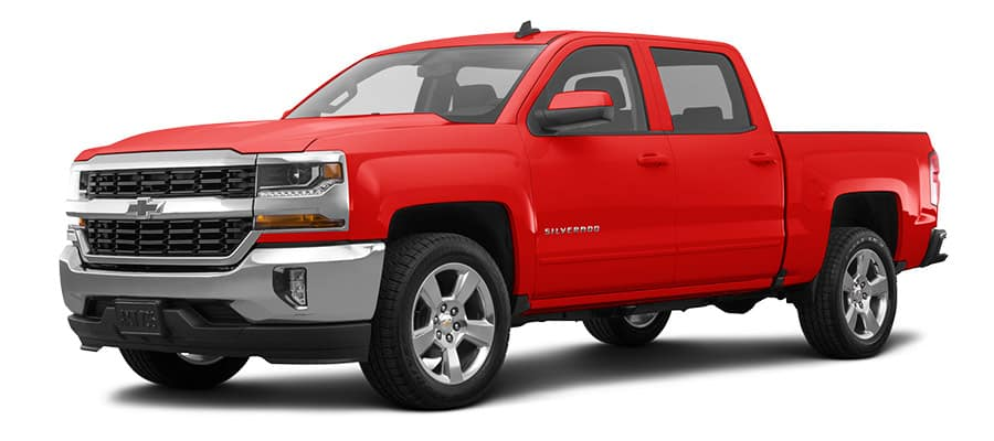 2019 Chevrolet Silverado LT Red