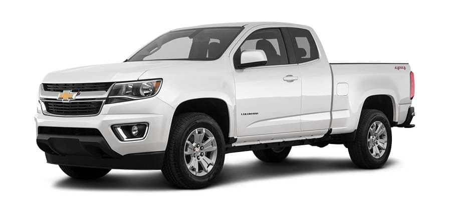 2019 Chevrolet Colorado LT White