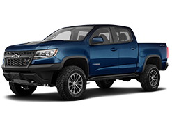 2019 Chevrolet Colorado ZR2 Blue