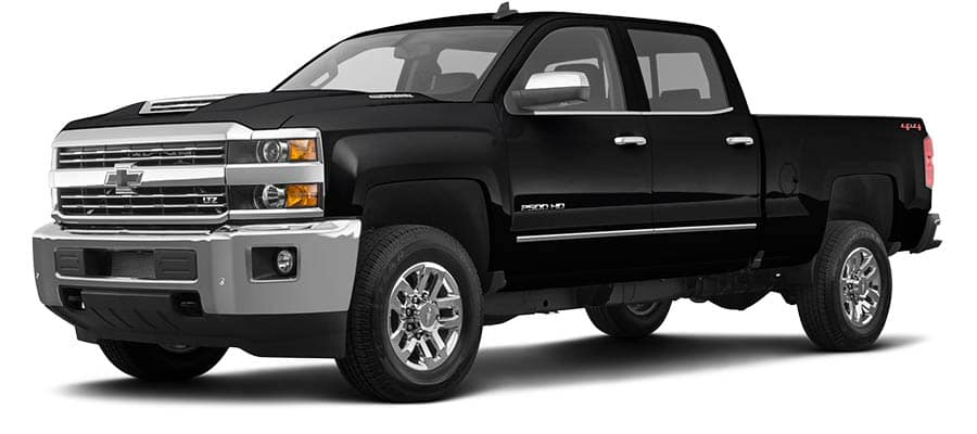 2019 Chevrolet Silverado 2500HD LTZ  Black