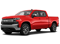 2019 Chevroelt Silverado 1500 Red