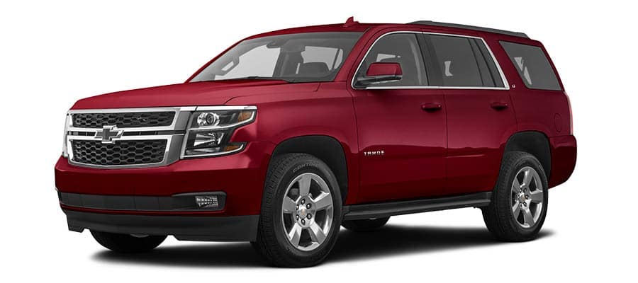 2019 Chevrolet Tahoe LT Red