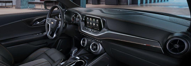dashboard in the 2019 Chevy Blazer