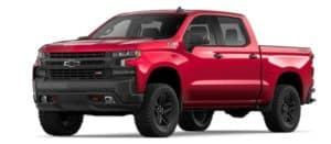 2019 Chevy Silverado 1500 in Cajun Red Metallic