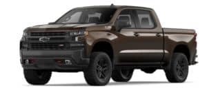2019 Chevy Silverado 1500 in Havana Brown Metallic