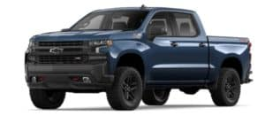 2019 Chevy Silverado 1500 in Northsky Blue Metallic