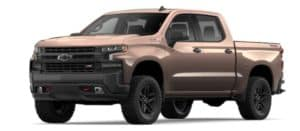 2019 Chevy Silverado 1500 in Oakwood Metallic