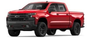 2019 Chevy Silverado 1500 in Red Hot
