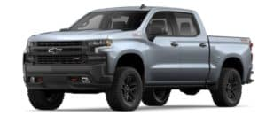 2019 Chevy Silverado 1500 in Satin Steel Metallic
