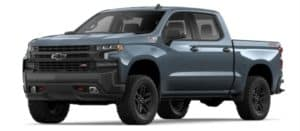 2019 Chevy Silverado 1500 in Shadow Gray Metallic