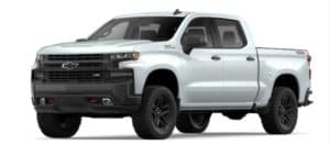 2019 Chevy Silverado 1500 in Summit White